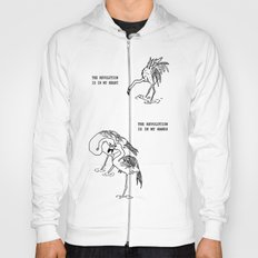 Revolutionary Flamingos Hoody
