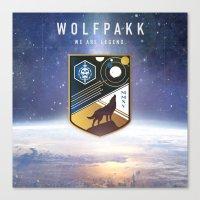 Destiny Wolfpakk Canvas Print