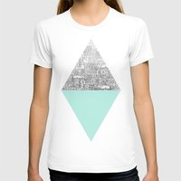 collage T-shirts featuring Diamond by David Fleck