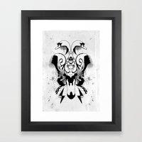 You got the love. Framed Art Print
