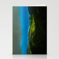 Birdseye view of the coast Stationery Cards
