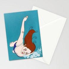 Swim Stationery Cards