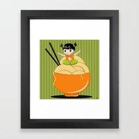 Noodle..noodle.. Noodle!… Framed Art Print
