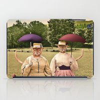 Two Pretty Kitties: Out for a Stroll iPad Case