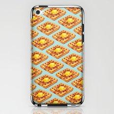 Waffle Pattern iPhone & iPod Skin