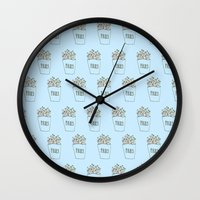 Fries Wall Clock