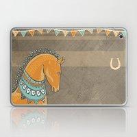 Horse Head - Chocolate Laptop & iPad Skin