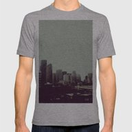 Sleepy Seattle Mens Fitted Tee Athletic Grey SMALL