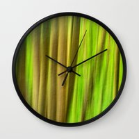 FOREST PEACE ABSTRACT Wall Clock