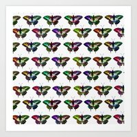 Butterflies Art Print