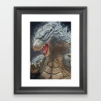 Godzilla - King of the Monsters Framed Art Print
