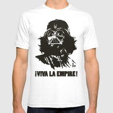 Viva la Empire! SMALL Mens Fitted Tee White