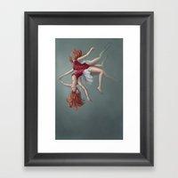 Dualitease Framed Art Print