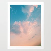 Cloudy With A Chance Art Print