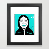 She's Got… Hungry Eyes… Framed Art Print