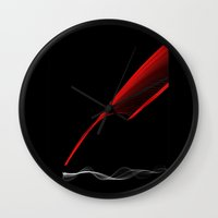 SilveRed Wall Clock