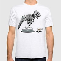 Mine! Mens Fitted Tee Ash Grey SMALL