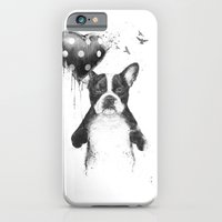 iPhone & iPod Case featuring My heart goes boom by Balazs Solti