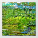 Landscape of My Heart (4 as 1) Canvas Print