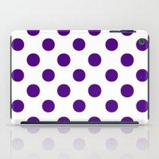 Polka Dots (Indigo/White) iPad Case