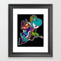 S90sW Framed Art Print