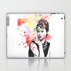 Audrey Hepburn Painting Laptop & iPad Skin