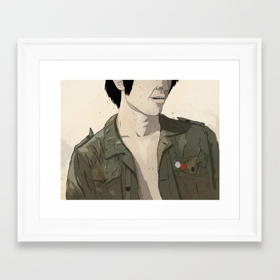 Smokey & the Jacket II Framed Art Print