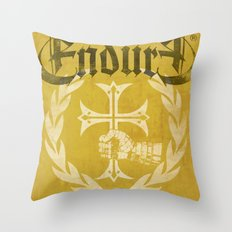 HAND WITH CROSS Throw Pillow