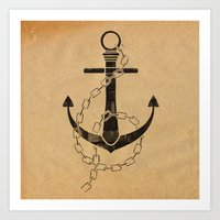Anchor Print Art Print