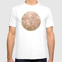 Planetary Bodies - Sand Mens Fitted Tee White SMALL
