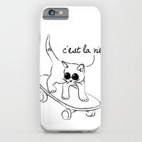 CARELESS CAT - C'EST LA … iPhone 6 Slim Case