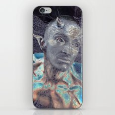 BLUE DEVIL iPhone & iPod Skin
