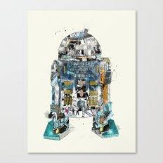pop art r2 Canvas Print