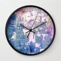 WINDOW FLOWER Wall Clock