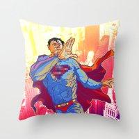 Hometown Hero Throw Pillow