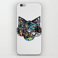 The Creative Cat (Alt. Colorway) iPhone & iPod Skin