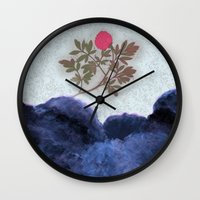 Magic Garden Wall Clock