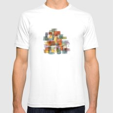 City White SMALL Mens Fitted Tee
