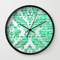 Urban Emerald Wall Clock