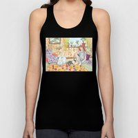Dutch and Red Unisex Tank Top