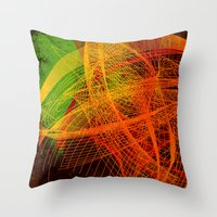 String Theory 02 Throw Pillow