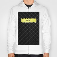 MOSCHINO Quilted Bag Hoody