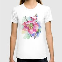 cherry blossom T-shirts featuring Cherry Blossom by A cup of grey tea