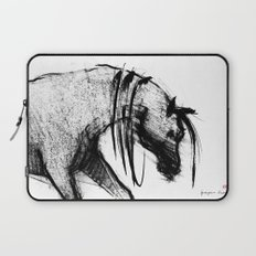 Horse (Portrait of a lady) Laptop Sleeve