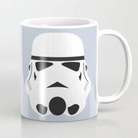 Star Wars Minimalism - Stormtrooper Mug