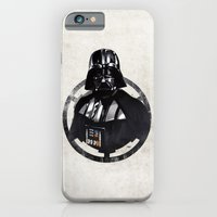 darth vader iPhone & iPod Cases featuring Darth Vader by Yvan Quinet