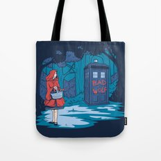 Big Bad Wolf Tote Bag