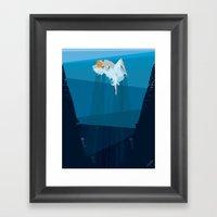 Sea Dance Framed Art Print