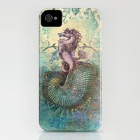 iPhone 4s & iPhone 4 Cases featuring The Seahorse Diary by Aimee Stewart