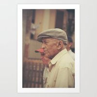 Portrait. Barcelona. Art Print